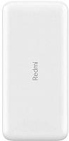Портативное зарядное устройство Xiaomi Redmi Powerbank 20000mAh / VXN4285GL (белый) -