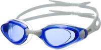 Очки для плавания Atemi B401 (белый/синий) -