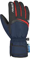 Перчатки лыжные Reusch Balin R-Tex XT / 4801265 482 (р-р 9.5, Dress Blue/Fire Red) -