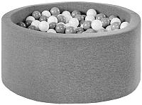 Сухой бассейн Misioo 90x40 200 шаров (серый) -