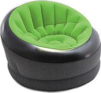 Надувное кресло Intex Empire Chair 66581 (ремкомплект, зеленый) -