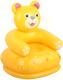 Надувное кресло Intex Happy Animal с ремкомплектом 68556 (медведь) -
