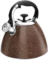Чайник со свистком Lara LR00-73 (терракотовый) -