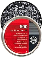 Пульки для пневматики Geco Diabolo (4.5мм, 500шт) -