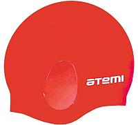 Шапочка для плавания Atemi EC102 (красный) -