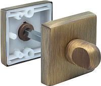 Фиксатор дверной защелки Morelli LUX-WC-SQ (кофе) -