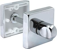 Фиксатор дверной защелки Morelli LUX-WC-SQ CRO -