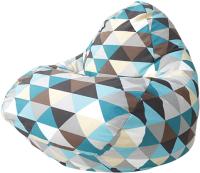 Бескаркасное кресло Flagman Relax P2.4-114 (ромб 03) -