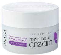 Крем для ног Aravia Professional Medi Heal Cream от трещин с маслом лаванды (150мл) -