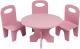 Аксессуар для куклы Paremo Набор мебели. Классика / PFD120-38 (розовый) -