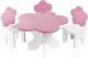 Аксессуар для куклы Paremo Набор мебели. Цветок / PFD120-43 (розовый) -