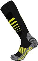 Носки горнолыжные Fischer Vacuum Сomfort Fit G37119-B/Y (р.35-38, черный/желтый) -