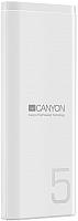 Портативное зарядное устройство Canyon CNE-CPB05W (белый) -