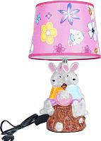 Прикроватная лампа ESCADA Rabbits 10180/L (розовый) -