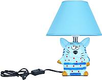 Прикроватная лампа ESCADA Cat 10181/L (синий) -