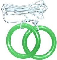 Кольца гимнастические Формула здоровья КГ01А (зеленый) -