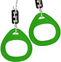 Кольца гимнастические Формула здоровья КГ02А (зеленый) -