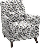 Кресло мягкое Нижегородмебель и К Либерти ТК 235 (фибра геометрия 18) -