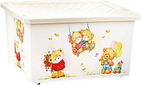 Ящик для хранения Little Angel Bears / 1026 (слоновая кость) -