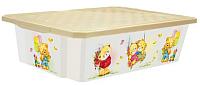 Ящик для хранения Little Angel Bears / 1024 (слоновая кость) -