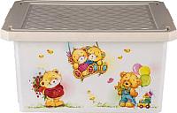 Ящик для хранения Little Angel Bears / 1023 (слоновая кость) -