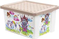 Ящик для хранения Little Angel Сказочная Принцесса / 1027 -
