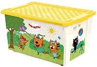 Ящик для хранения Little Angel Три кота Игры Веселье / 1527 -
