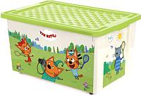 Ящик для хранения Little Angel Три кота Игры Забава / 1627 -
