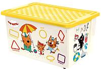 Ящик для хранения Little Angel Три кота Обучайка Читай / 1227 -