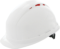Защитная строительная каска РОСОМЗ RFI-3 Biot Zen / 72317 (белый) -
