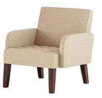 Кресло мягкое Нижегородмебель и К Квадро ТК 960 (витал карамель) -