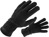 Перчатки горнолыжные Fischer Fleece / GR8061-100 (L, черный) -
