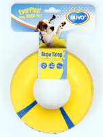Игрушка для собак Duvo Plus Supa Hoop Ring / 1714602/DV (желтый) -