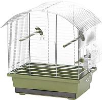 Клетка для птиц Duvo Plus Natural 11677/DV (зеленый) -