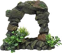 Декорация для аквариума Aqua Della Арка каменная / 234/444221 -