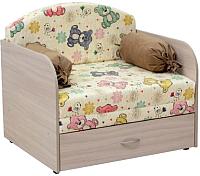 Кресло-кровать Нижегородмебель и К Антошка 1 010 85 (фибра мишутка/толидо 03) -