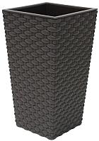 Кашпо Idea Ротанг М3087 (коричневый) -