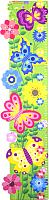 Ростомер WoodLand Toys Бизиборд. Цветочная полянка / 127101 -