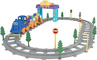 Железная дорога игрушечная Terides Волшебные детали. Поезд / Т6-073 -