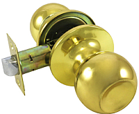Ручка дверная Стандарт 607 PS GP 9875 (золото) -