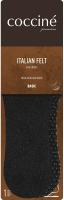Стельки Coccine Italian Felt шерстяные (р.41-42, черный) -
