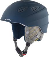 Шлем горнолыжный Alpina Sports Grap 2.0 LE / A9094-84 (р-р 54-57, чернильный/серый) -