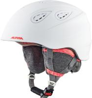 Шлем горнолыжный Alpina Sports Grap 2.0 LE / A9094-12 (р-р 54-57, белый/фламинго) -