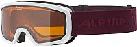 Маска горнолыжная Alpina Sports 2019-20 Scarabeo Jr. DH S2 / A7258113 (р-р 7-14, белый) -
