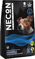 Корм для собак Necon Zero Grain Sensible Dogs Salmon Peas and Broad (3кг) -