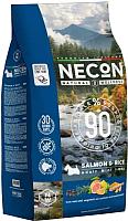 Корм для собак Necon Natural Wellness Dog Mini Salmon & Rice (2кг) -