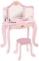 Туалетный столик игрушечный KidKraft Принцесса. С зеркалом / 76123-KE -