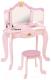 Туалетный столик KidKraft Принцесса. С зеркалом / 76123-KE -