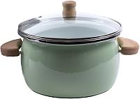 Кастрюля Omelia 1-2430513 / 87932 (салатовый ментол) -