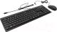 Клавиатура+мышь Genius SlimStar C130 (черный) -